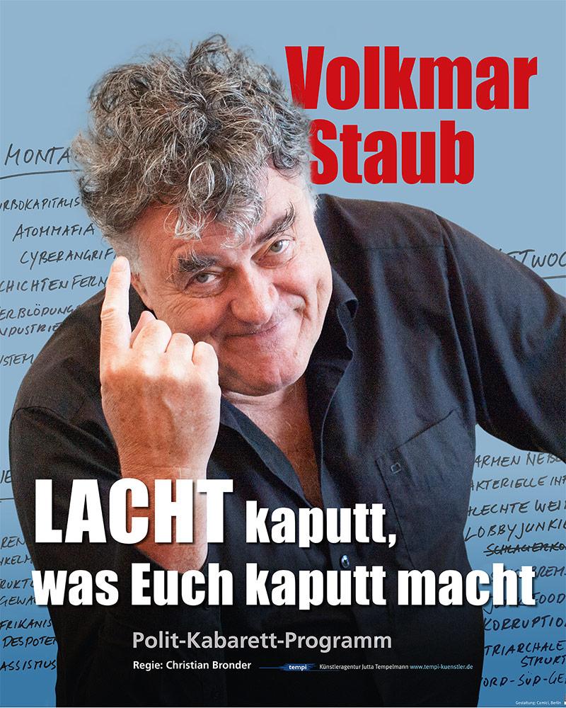 Plakat Lacht Kaputt